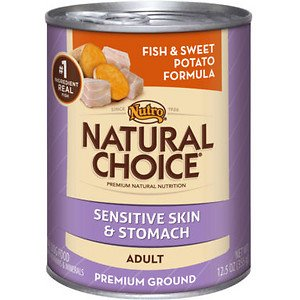 NATURAL CHOICE ADULT HERRING & SWEET POTATO CAN