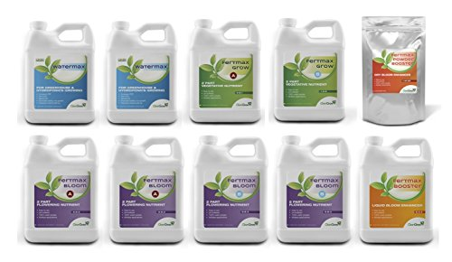 CleanGrow Fertmax Pro Pack - Complete Hydroponic Nutrient Kit by CleanGrow