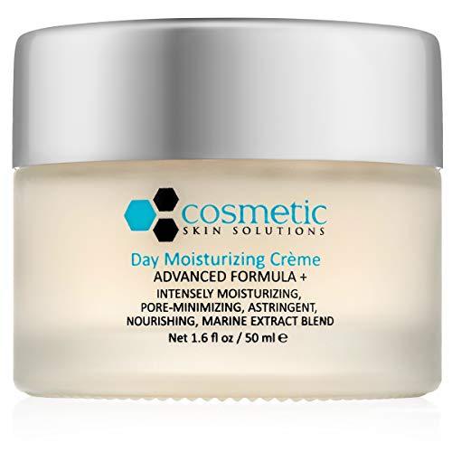 Best Day Moisturizing Crème Advanced Formula + 1.6 fl oz / 50 ml - Lightweight pore-minimizing marine extract blend with Vitamin A, Vitamin E, Cucumber, Chamomile, Aloe, Hyaluronic acid.
