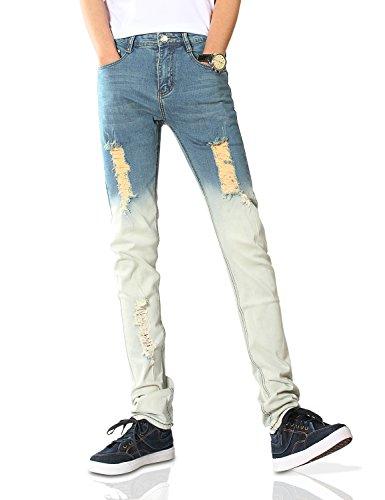 Demon Da Cambio Dh8068 Di amp;hunter X Uomo Jeans Stretti 808 Gioventù Graduale Blu Normale Elasticizzato Serie nxgxqpw8r7
