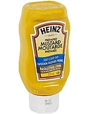 Kraft Heinz Food Service Yellow Mustard (24 x 375 ML Squeeze Bottle)