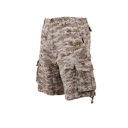 Rothco Infantry Shorts, Desert Digital, XX-Large