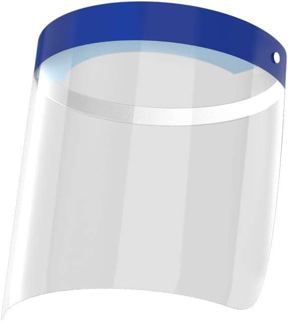 12 Pcs Reusable Clear Plastic Face Shields