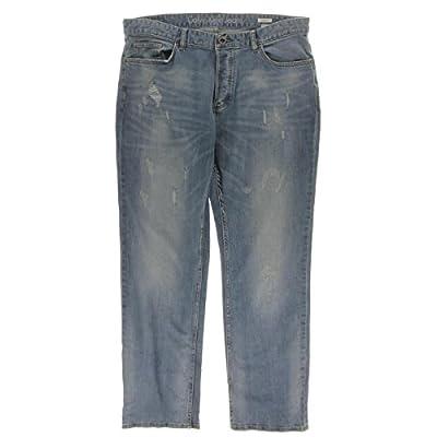 Calvin Klein Men's Slim Straight Fit Seasonal Denim Jean