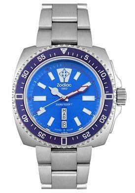 Zodiac ZO2308 - Reloj analógico de cuarzo para mujer con correa de acero inoxidable, color plateado: Amazon.es: Relojes