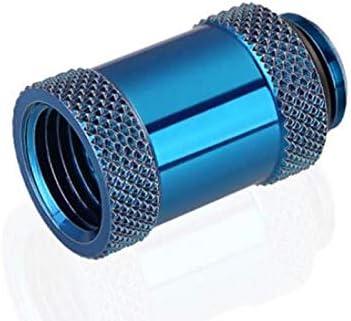 2 Pack Blue Bykski Male//Female G1//4 Extension Coupler 25mm