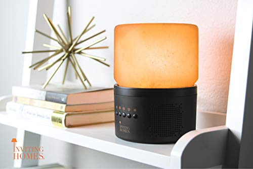 Natural Himalayan Salt Lamp Speaker w/ Bluetooth