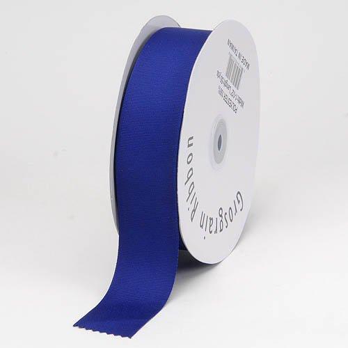 Christmas Gift Wrapping Ribbon (Solid Grosgrain, 7/8-inch x 50-yard, Royal Blue)
