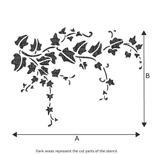 Farfalle Stencil Da Stampare. Adesivi Murali Farfalle In Volo ...
