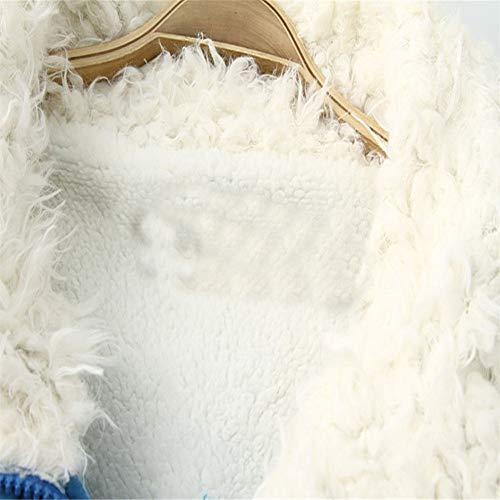 Chaud Pull Manteaux Fourrure Outwear Quicker Parka Veste Long Down De Slim Bleu Turn Winter Sooner Col Manteau Femmes EBtqwwU