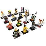 LEGO 8803 Minifigures Serie 3 - Minifiguras con diseños variados, juego completo (16 unidades)
