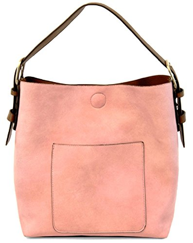 Joy Susan Classic Hobo Handbag (Pink Lemonade Coffee Handle)