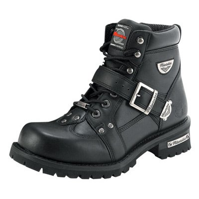 Milwaukee Motorcycle Clothing Company Road Captain Motorcycle Boots