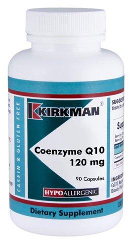 Coenzyme Q10 120 mg Capsules – Hypo – 90 ct