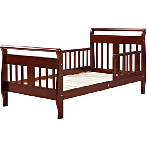 side bed rails adult cherry wood - 9