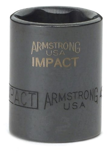 Armstrong 18-620 1/4-Inch Drive 6 Point Impact Socket, 5/8-Inch ()