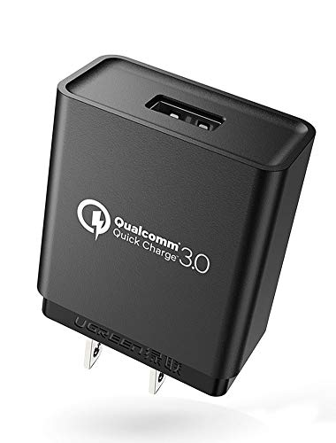 Quick Charge 3.0 UGREEN Cargador de Pared USB Cargador Rápido con Qualcomm 3.0 Certificado para Samsung Galaxy S8, S7, S7...