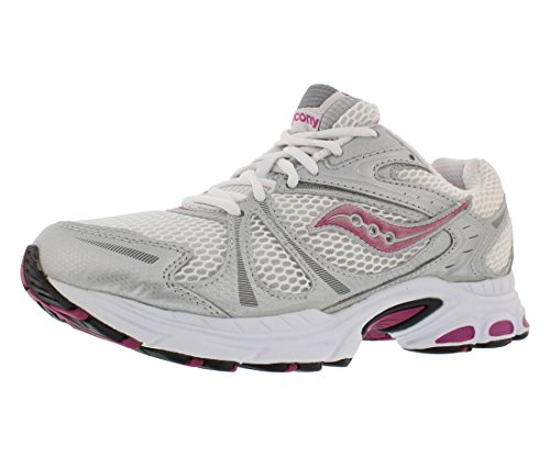 Saucony Grid Twister Running Womens Shoes Size White/Silver/Pink zbnWX2Y
