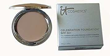 It Cosmetics Celebration Foundation SPF 50 Full Coverage Anti-aging Hydrating Powder Foundation