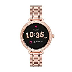 Kate Spade New York Scallop Touchscreen Smartwatch, Rose Gold-tone Stainless Steel Bracelet, 42mm, KST2005