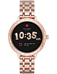 Scallop Touchscreen Smartwatch, Rose Gold-tone Stainless Steel Bracelet, 42mm, KST2005