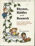 Rhymes, Riddles and Research, Loretta B. Minn, 086653024X