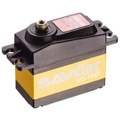 Savox SC-1257TG Super Speed Titanium Gear Standard Digital Servo: Toys & Games