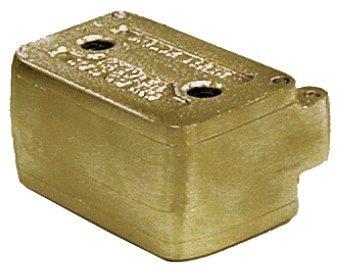 #48F HANDLER - Bridge Flask - 3in x 2.38in x 1.5in - comes in four pi 103371 Us Dental Depot