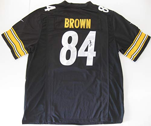 Antonio Brown signed autographed Pittsburgh Steelers Jersey, COA with the Proof Photo will be included