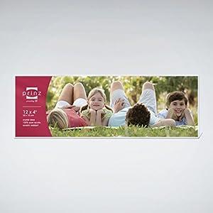 prinz acrylic panoramic picture frame for 12 x 4 photos horizontal