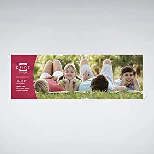 prinz acrylic panoramic picture frame for 12 x 4
