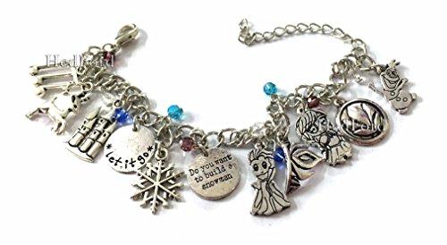 Disney Frozen Girl's Charm Wrist Bracelet (Frozen) (Frozen Adults Costumes)