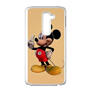 LG G2 Phone Case for Classic theme Disney Mickey Mouse Minnie Mouse cartoon pattern design GDMKMM942184