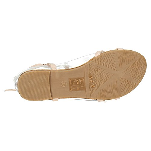 55 ZAPATOP Nude MUJER 10 SANDALIAS MUJER v1qdwHgq