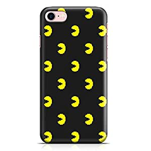 Loud Universe Pacman Pattern iPhone 7 Case Retro Game Pacman iPhone 7 Cover with 3d Wrap around Edges