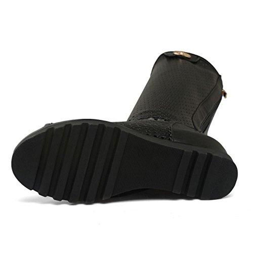 Boots Longue Femmes Zanpa Classique Sandales Black XOkZPiu
