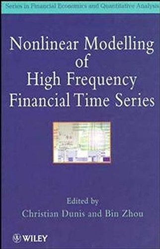 Nonlinear Modelling of High Frequency Financial Time Series