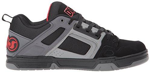 977 Noir Red Skateboard Shoes Deegan Nubuck black Chaussures Comanche Dvs Homme Charcoal De YA7aw6FFq