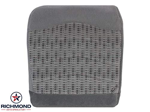 Richmond Auto Upholstery - Driver Side Bottom Replacement Cloth Seat Cover, Gray (Compatible with 1999-2000 Ford F-250 XLT)