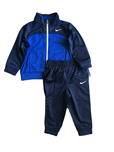 Nike Infant/Toddler/Baby Track Suit Jacket and Pants Two-Piece Set - Assorted Colors (2T, Blue Navy)
