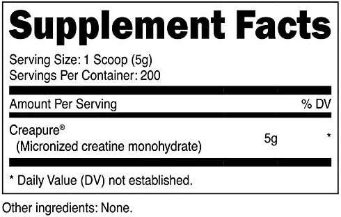 Nutricost Creapure Creatine Monohydrate 1KG