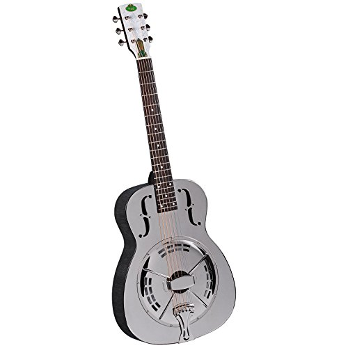 Regal RC-4 Metal Body Duolian Guitar - Nickel-Plated Brass by Regal