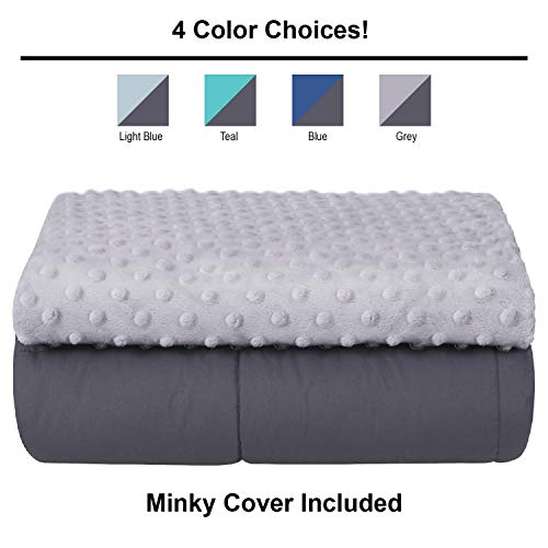 (ALPHA HOME Weighted Blanket 20 lbs, 60