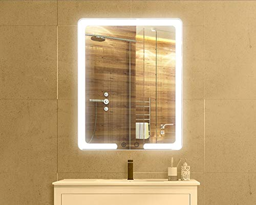 400X500mm LED Bathroom Mirror, Smart Lighting, Touch Switch, Fine Workmanship, Simple and -