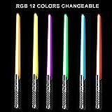 CVCBSER FX Dueling Lightsaber RGB 12 Colors