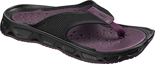 Salomon Break Viola 4 W Da 0 Purple black potent Donna Rx Recupero black Sandali HHqx5zSw