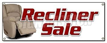 furniture sale sign. recliner sale banner sign furniture chairs sofa coffee tables lazyboy sale sign u