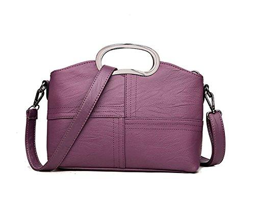 Mujer Shoppers y bolsos de hombro Bolsos bandolera Carteras de mano y clutches Púrpura Púrpura