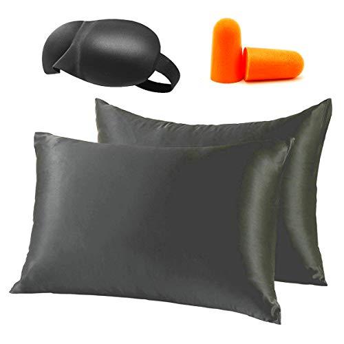 Amazon.com: Silk Satin Pillowcase Standard USA For Hair
