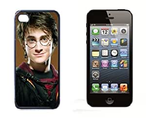 Daniel Radcliffe Harry Potter Iphone 5 Case iPhone 5 Hard Case - Black Designed for The New iPhone 5 Cover Protector